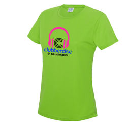 Clubbercise Fitted T Shirt Thumbnail